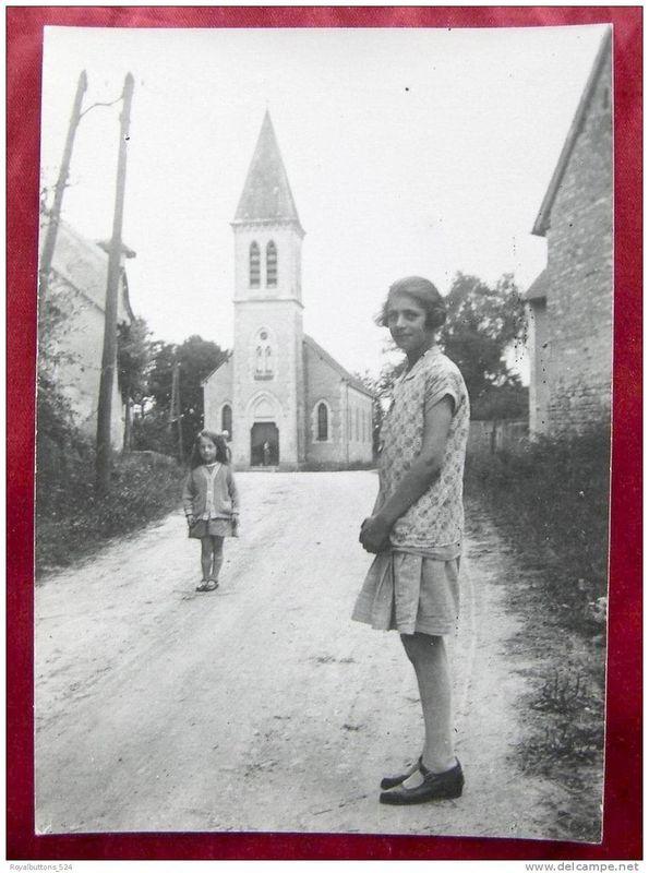 des Hirouldaines dont une nièce de Mme blot années 1930
