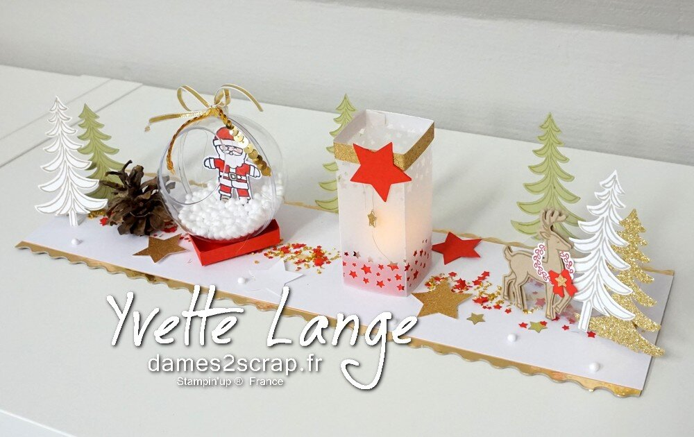 deco noel stampin up