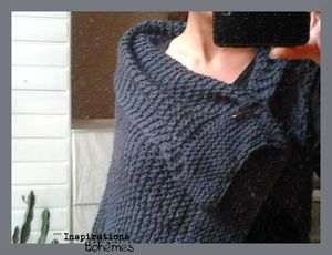 LottieDa's Drop Stitch Scarf knitted by me 2