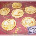 Petites tartelettes aux pommes