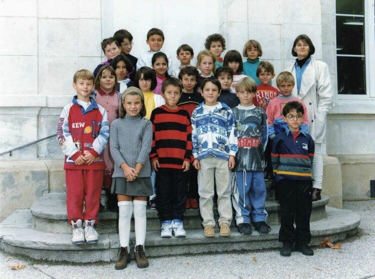 école Lavieu 1995