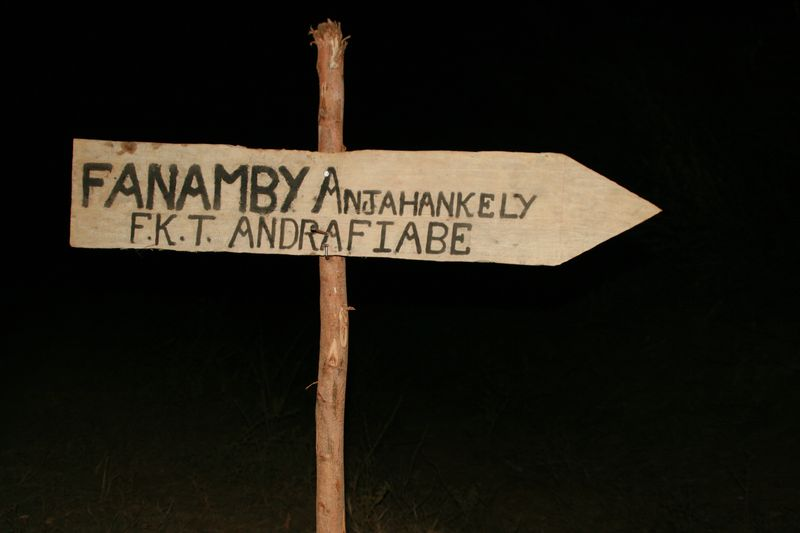 Vers Anjahankely et Fanamby...