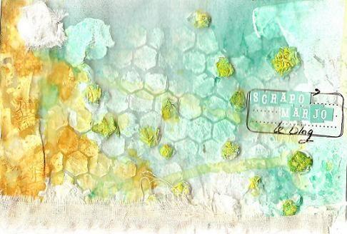Scrapomarjo sketch Mai 2011 des Poulettes