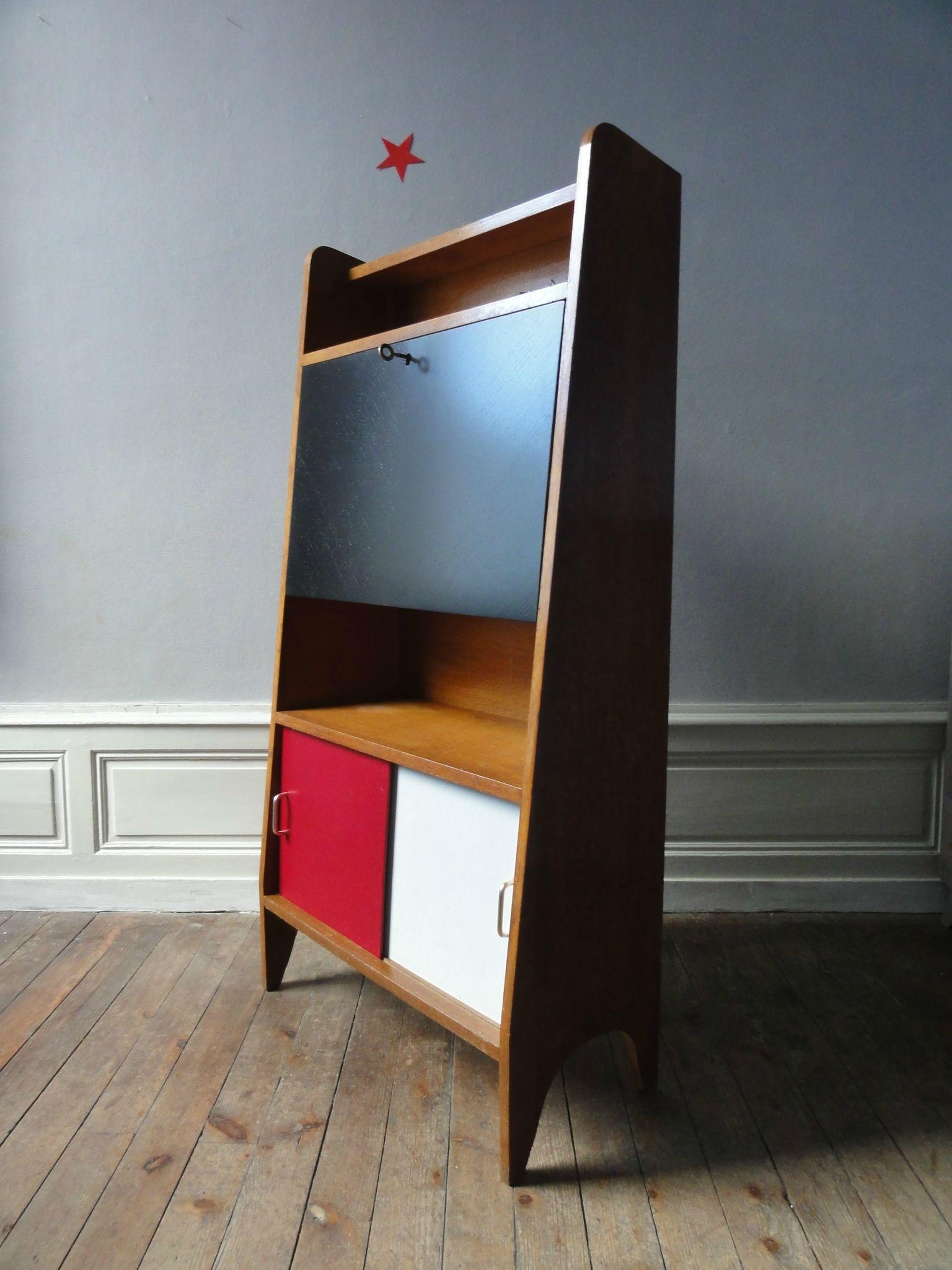 Mobilier vintage enfant tous les messages sur mobilier vintage enfant vintage moi - Bureau secretaire enfant ...
