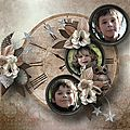 It's Cold Outside - Kit by Ilonkas Scrapbook Designs