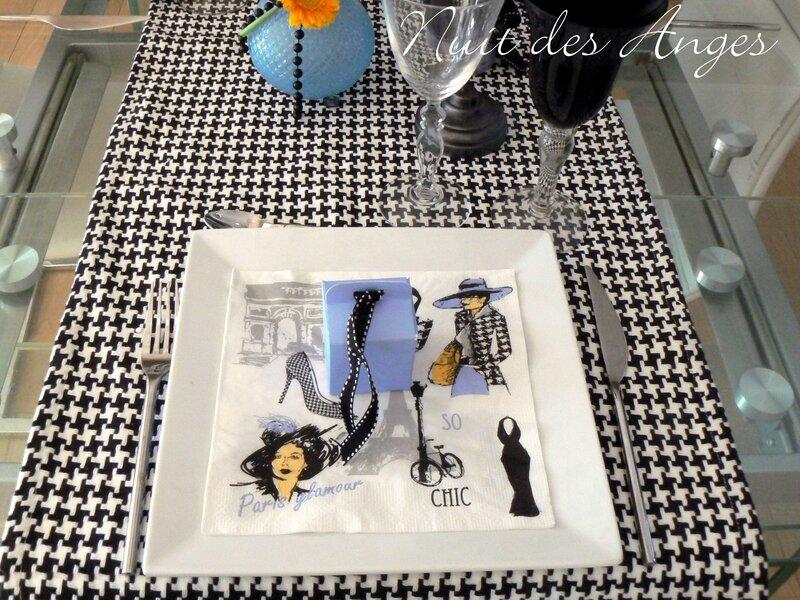 Nuit des anges décoratrice de mariage décoration de table Paris 003