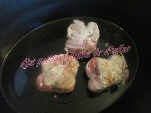 Paupiette de porc aux petits pois carottes10
