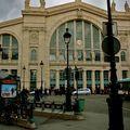 La Gare du Nord depuis Bd de Denain.
