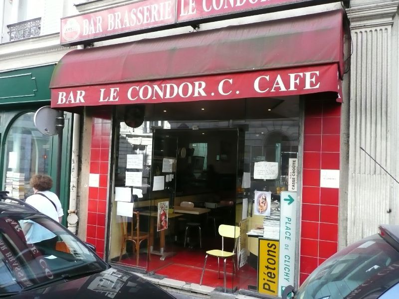 Cafe Condor C  Paris