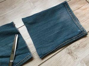 Avec mon vieux jean cam drey bricolent - Que faire avec un vieux jean ...