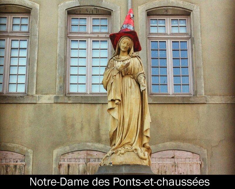 Carcassonne, Notre-Dame des Ponts et chaussées