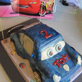 Gâteau Sally CARS