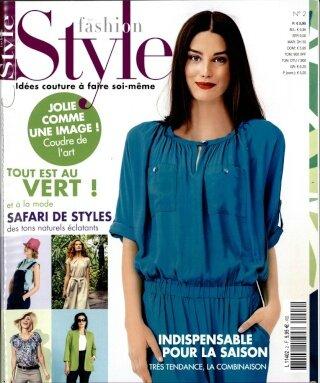 J 39 Ai Test Un Patron Du Nouveau Magazine De Couture Top 22 Fashion Style N 2 Le Chas Et