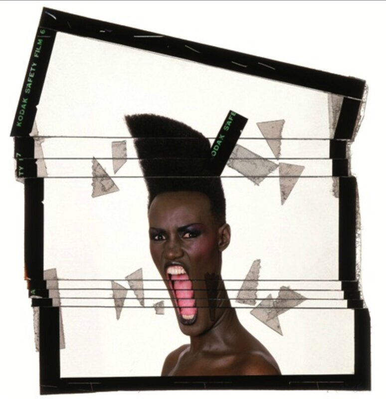 Slave to the rythm ekta decoupe New York 1986 © Jean-Paul Goude