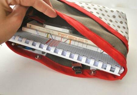 Atelier de couture venez coudre vos cadeaux de noel - Tuto organisateur de sac ...