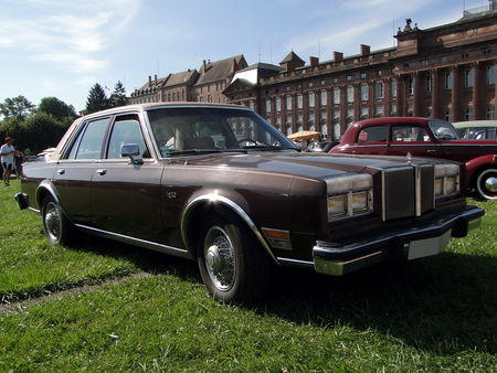 CHRYSLER Le Baron 4door Sedan 1981 Rohan Locomotion de Saverne 2010 1