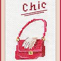 Échange ATC Perso (Les accessoires de mode) Février Sandrine pour Marie de Clessé