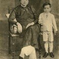 Madame Bn et mon pre, Mr Truong Khac Hu  6 ans