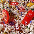 Salade choux fleur façon grecque