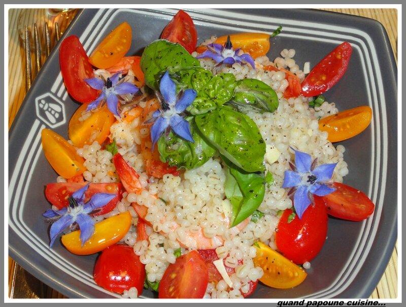 salade d'orge aux crevettes et tomates cerises-1866