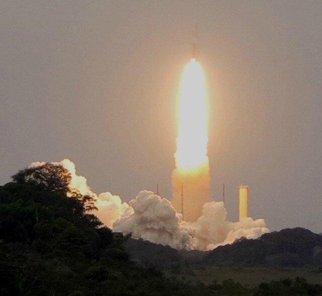 Lancement Ariane 5 Le départ 2