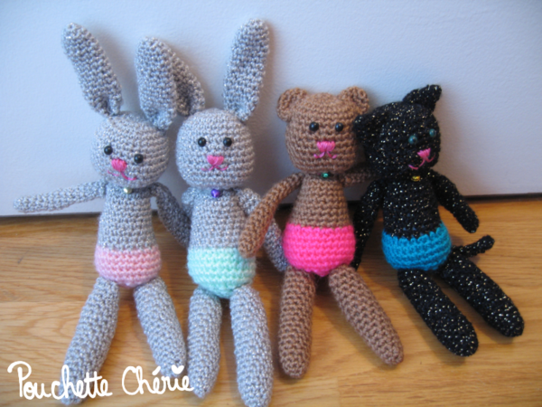 amigurumi chat lapin ours 03