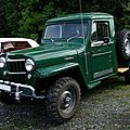 Willys-overland jeep truck pickup 1953-1962