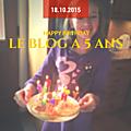 Le blog a 5 ans !