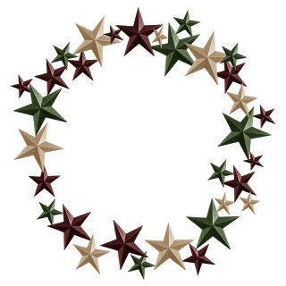 STAR-METAL-WREATH