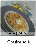 gaufre salé weight watchers