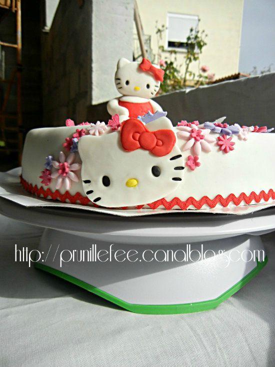 Decorer Gateaux Hello Kitty