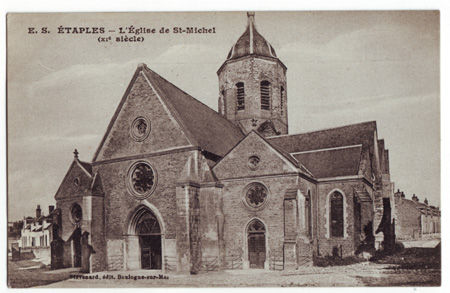 62 - ETAPLES - Eglise Saint Michel