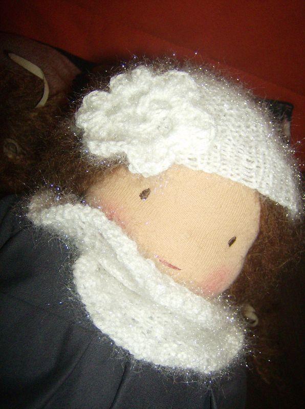 Bonnet et écharpe étincelle