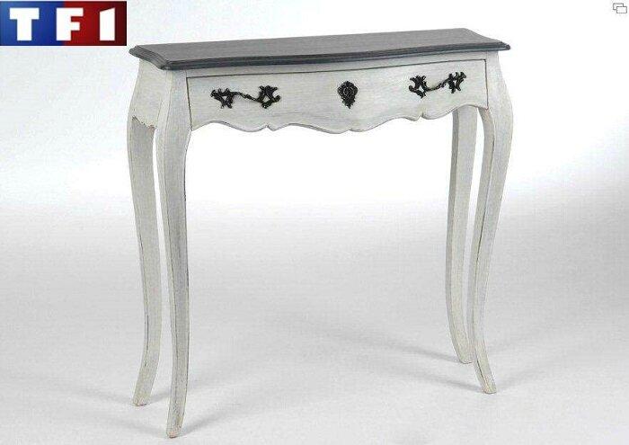 des meubles gris au juste prix sur tf1 meubles et d coration amadeus au grenier de juliette. Black Bedroom Furniture Sets. Home Design Ideas