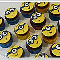 Cupcakes minions nîmes