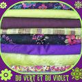 Du vert anis et du violet !!!!
