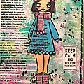 Art journal et gelli plate