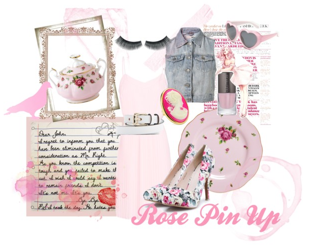 Rose Pin Up - Polyvore Sara