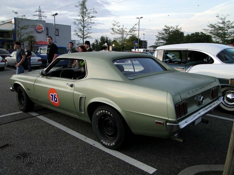 ford mustang hardtop coupe 1969 b