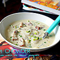 Clam chowder aux noix de saint-jacques