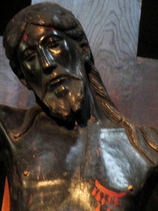 Christ de St Flour détail