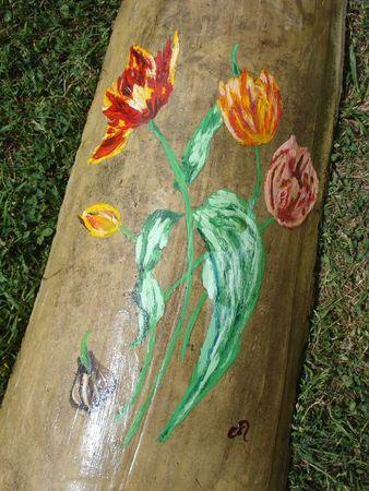 Tuile tulipes (1)