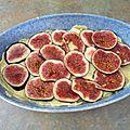 Gâteau invisible aux pomme de terre et aux figues