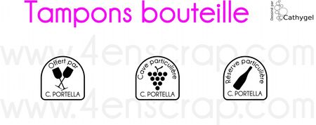 Tampons bouteille