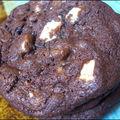 **cookies aux trois chocolats**