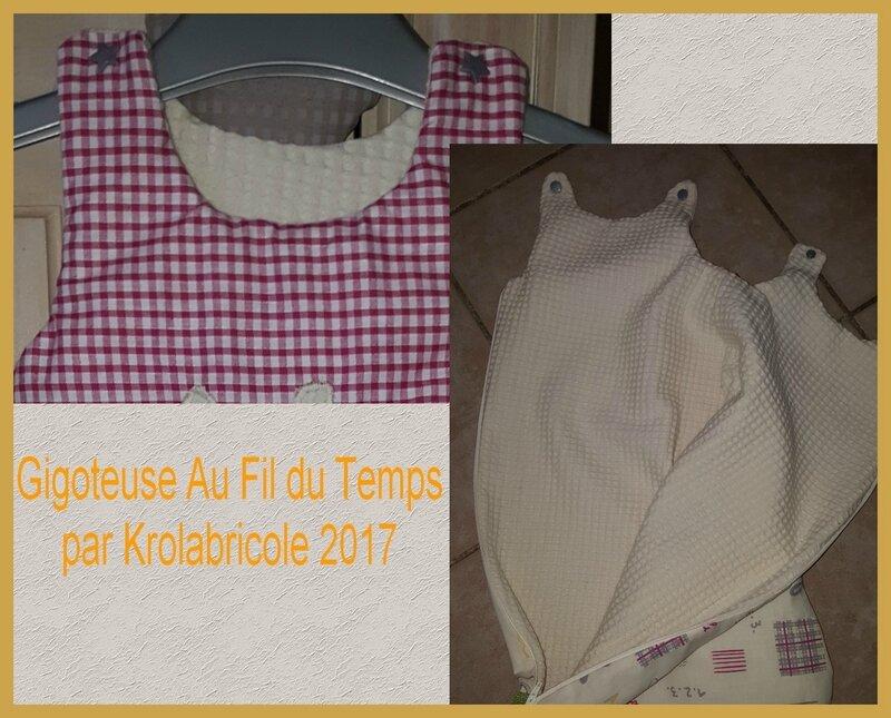 Gigoteuse Krolabricole 2017