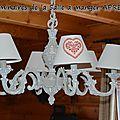 Luminaires de la salle à manger APRES