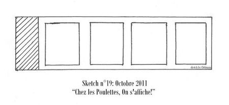 Sketch 209 Les Poulettes