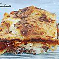 Lasagne aux lentilles et cantal