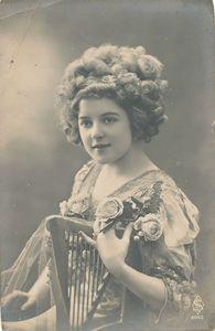Portrait fillette 1900 vintage